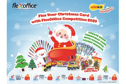 FlexOffice Philippines: Flex Your Christmas Card with FlexOffice Competition 2020