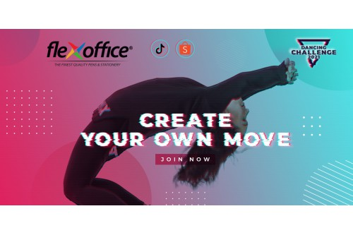 FLEXOFFICE DANCING CHALLENGE 2021 - CREATE YOUR OWN MOVE