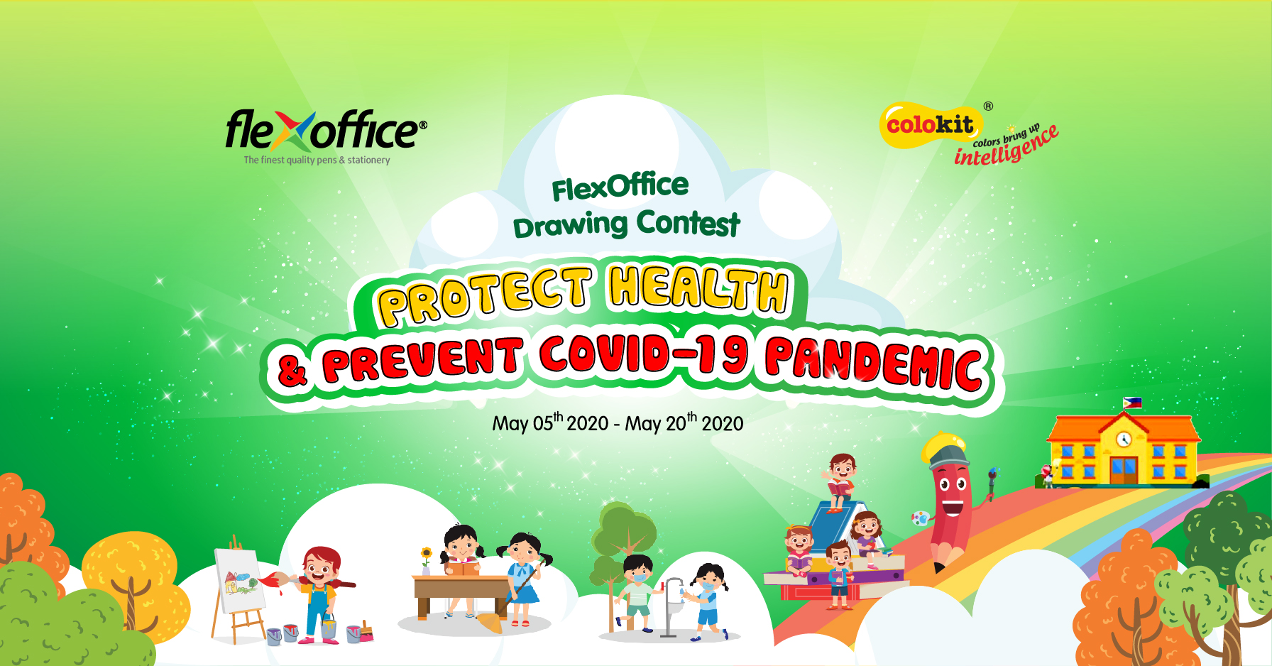 THE 2020 FLEXOFFICE DRAWING CONTEST IN THE PHILIPPINES