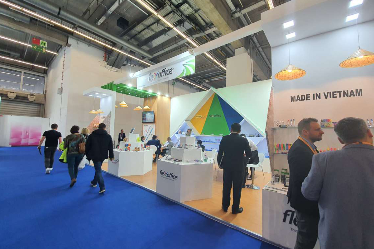 FLEXOFFICE ATTENDED THE PAPERWORLD 2020 IN FRANKFURT